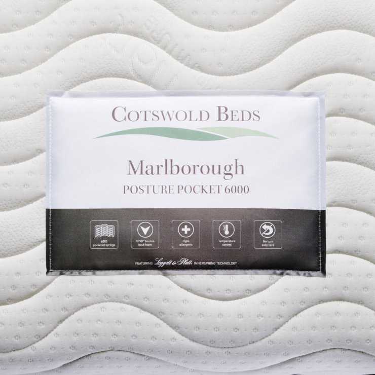 Marlborough Posture Pocket 6000 Pocket Spring Single Mattress