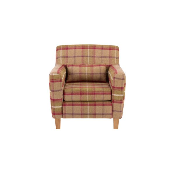 Marseille Accent Armchair in Balmoral Brown