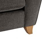 Memphis Armchair in Chase Fabric - Charcoal - Thumbnail 9