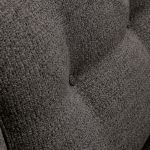 Memphis Right Hand Corner Sofa in Chase Fabric - Charcoal - Thumbnail 5