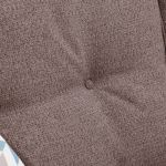 Memphis Right Hand Corner Sofa in Chase Fabric - Taupe - Thumbnail 5