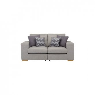 Milton Modular Group 8 in Orly Silver with Charcoal Scatters
