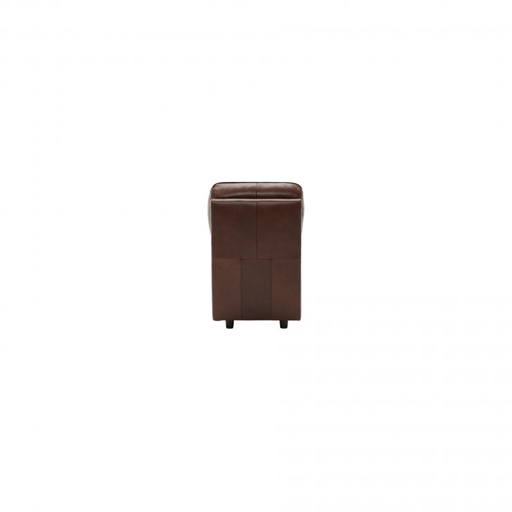 Modena Armless Module in 2 Tone Brown Leather