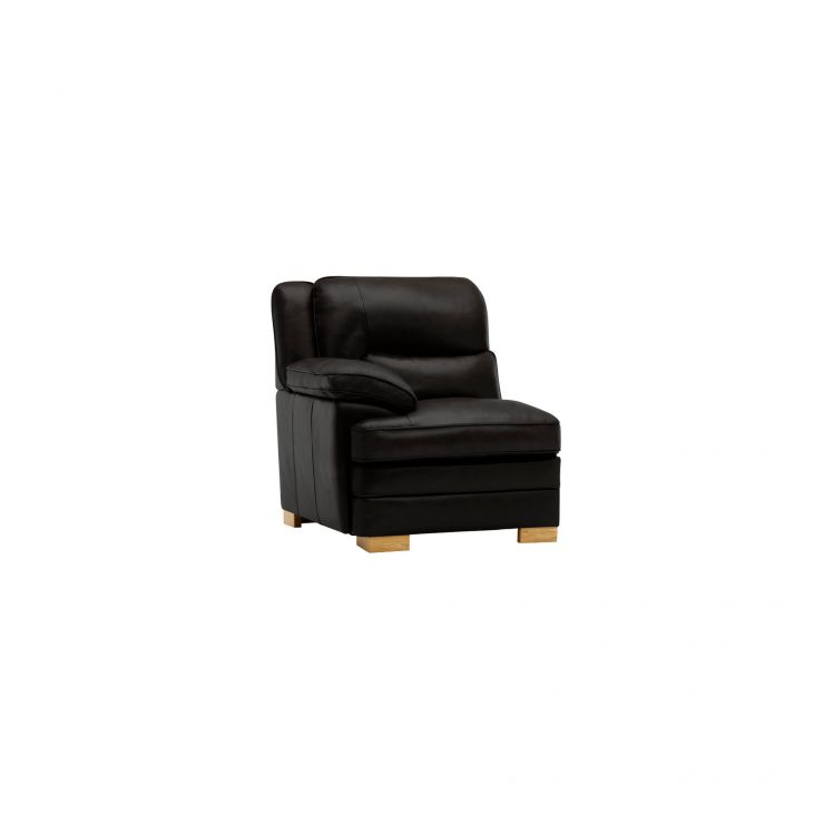 Modena Left Arm Module in Black Leather - Image 3