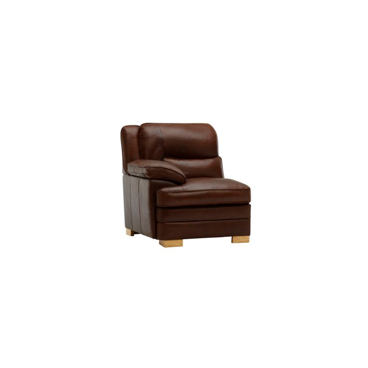Modena Left Arm Module in Tan Leather