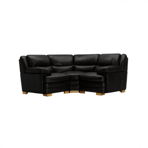 Modena Modular Group 1 in Black Leather