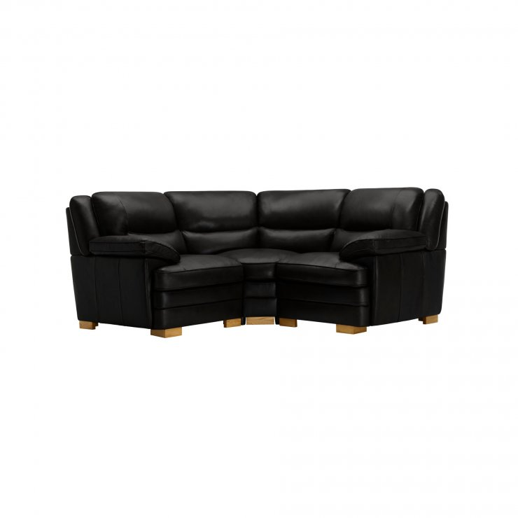 Modena Modular Group 1 in Black Leather - Image 7