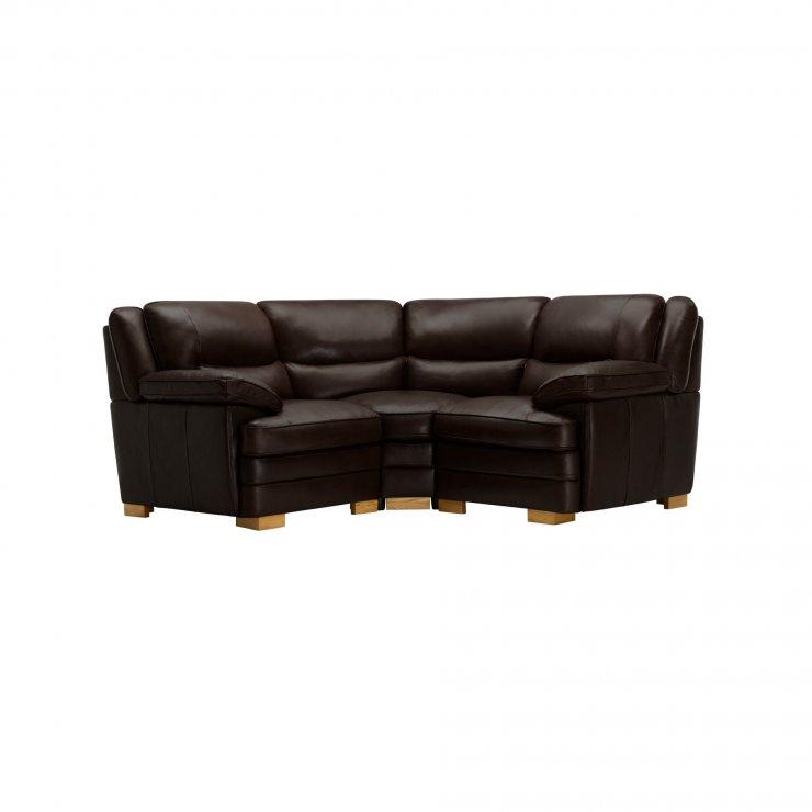 Modena Modular Group 1 in Dark Brown Leather - Image 7