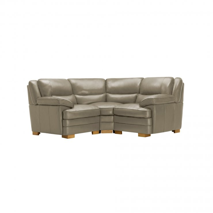 Modena Modular Group 1 in Grey Leather - Image 9