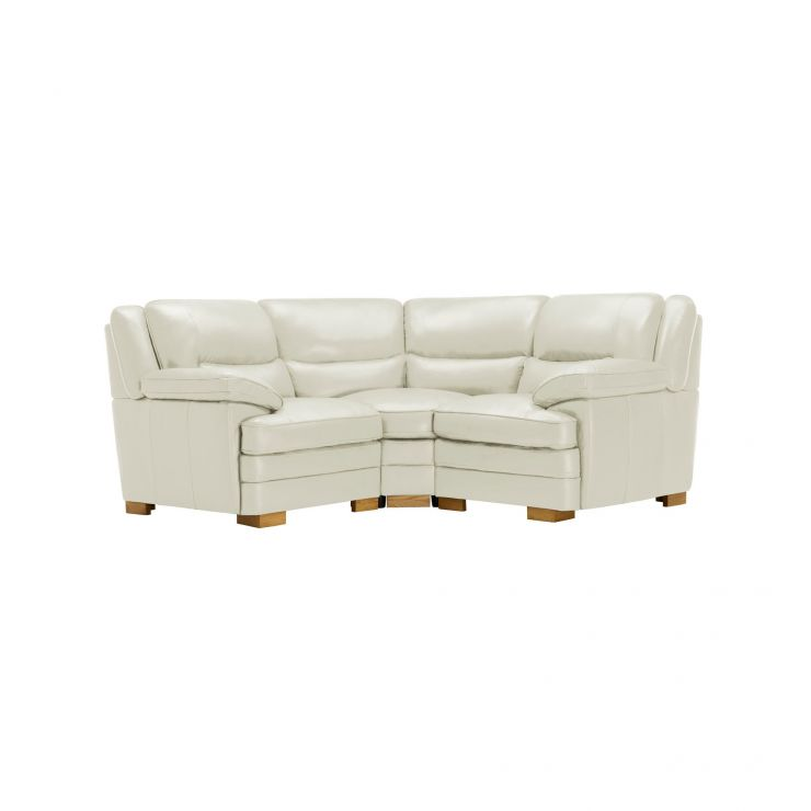 Modena Modular Group 1 in Off White Leather - Image 6