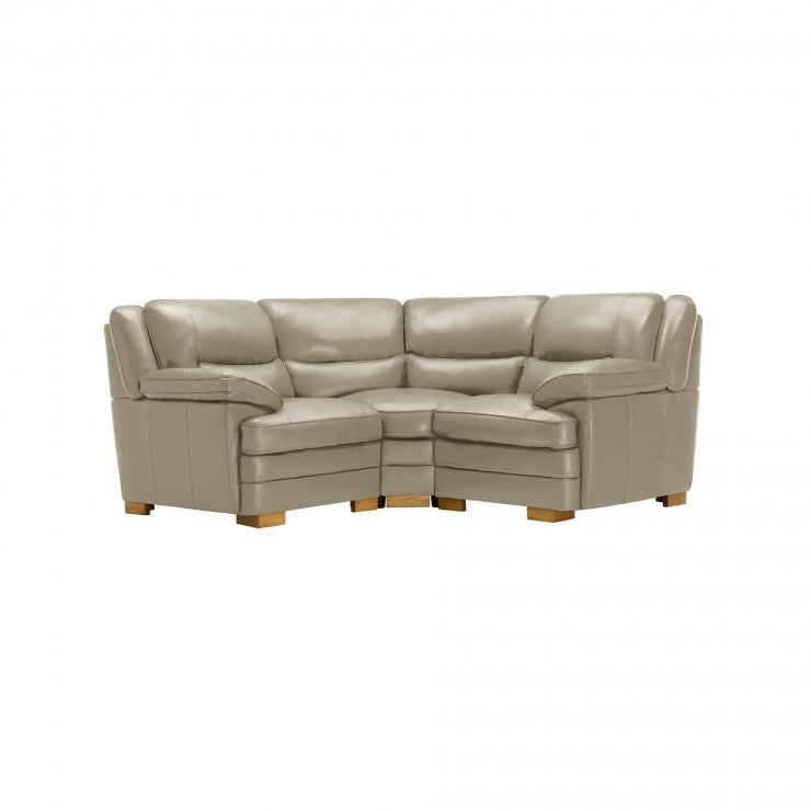 Modena Modular Group 1 in Stone Leather - Image 9