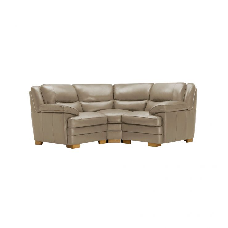 Modena Modular Group 1 in Taupe Leather - Image 7
