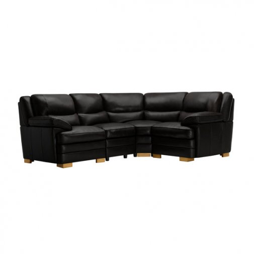 Modena Modular Group 2 in Black Leather