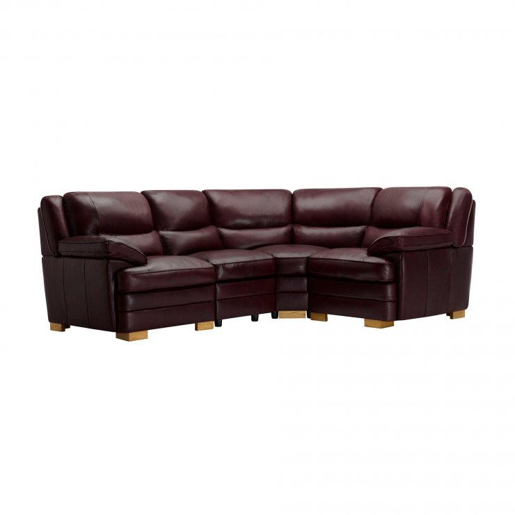 Modena Modular Group 2 in Burgundy Leather - Image 8