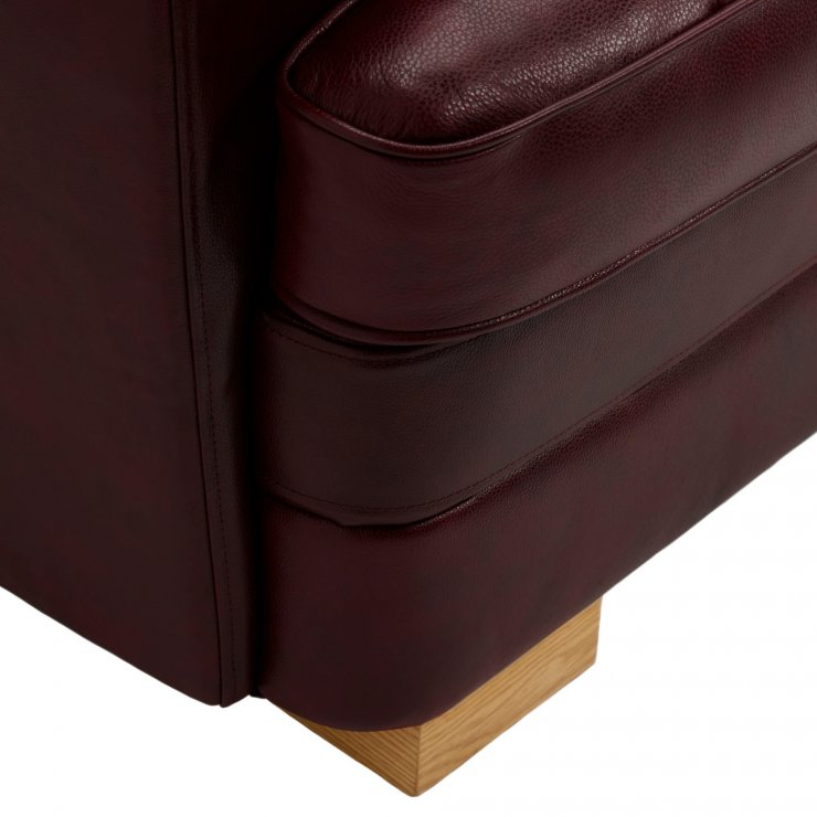 Modena Modular Group 2 in Burgundy Leather