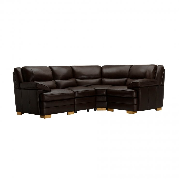 Modena Modular Group 2 in Dark Brown Leather