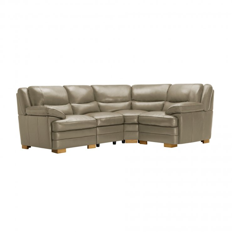 Modena Modular Group 2 in Grey Leather - Image 10