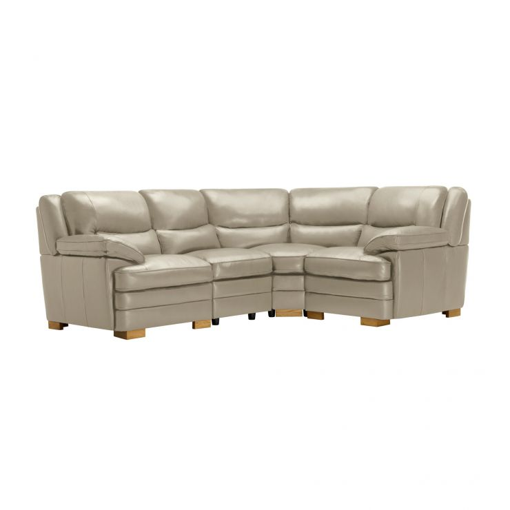 Modena Modular Group 2 in Stone Leather - Image 11