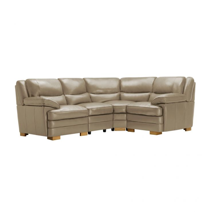 Modena Modular Group 2 in Taupe Leather - Image 10