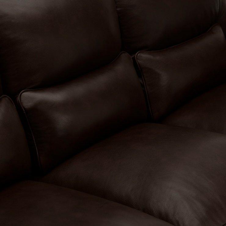Modena Modular Group 4 in Dark Brown Leather