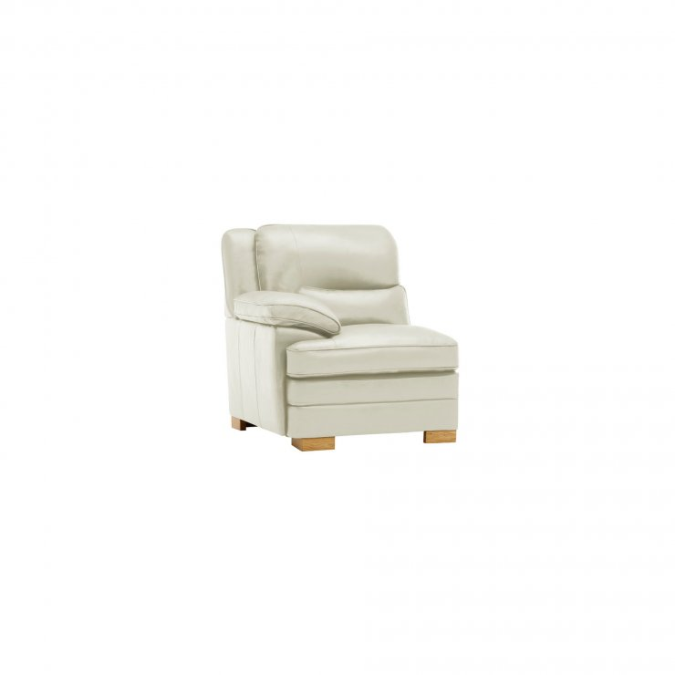 Modena Modular Group 4 in Off White Leather - Image 7