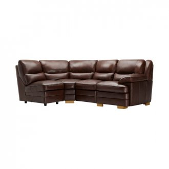 Modena Modular Group 5 in 2 Tone Brown Leather