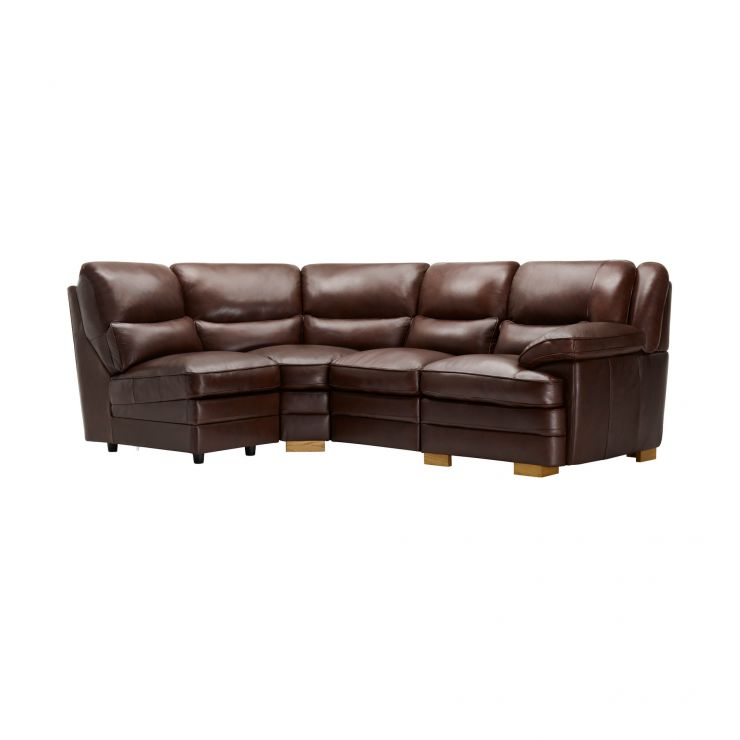 Modena Modular Group 5 in 2 Tone Brown Leather - Image 9