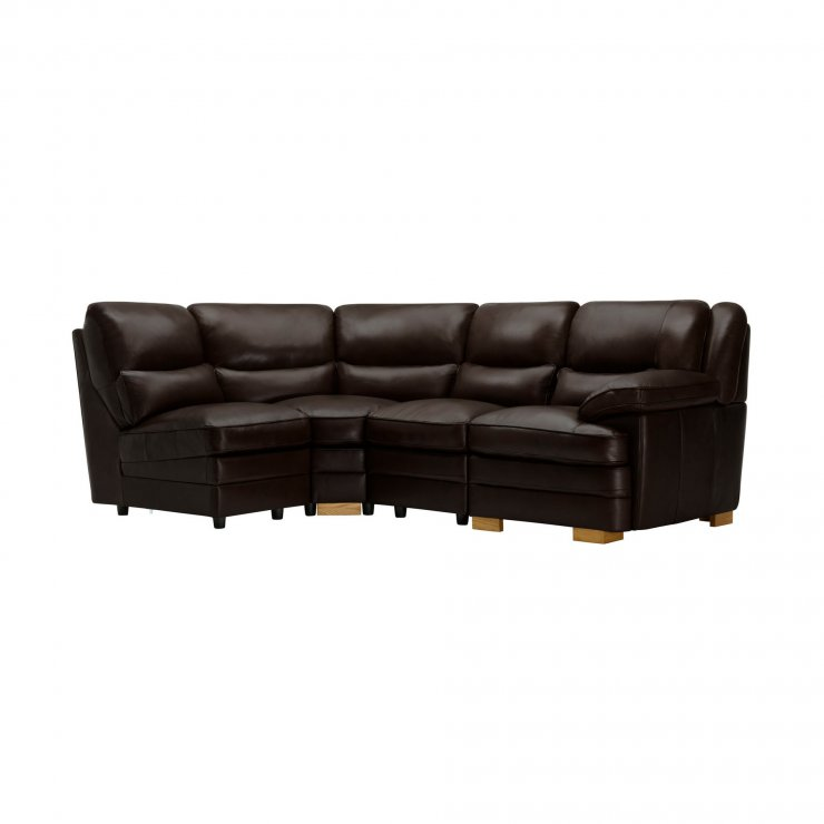 Modena Modular Group 5 in Dark Brown Leather - Image 7
