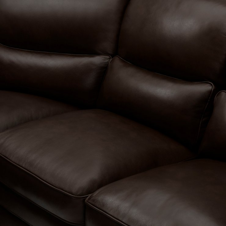 Modena Modular Group 5 in Dark Brown Leather