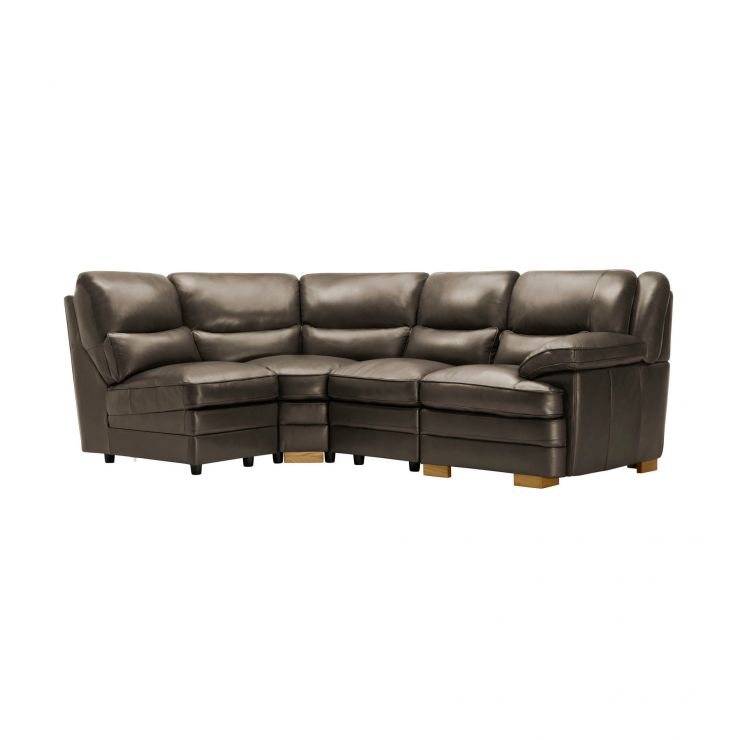 Modena Modular Group 5 in Dark Grey Leather - Image 8