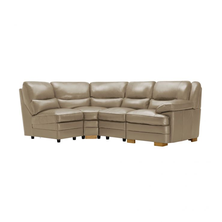 Modena Modular Group 5 in Taupe Leather - Image 5