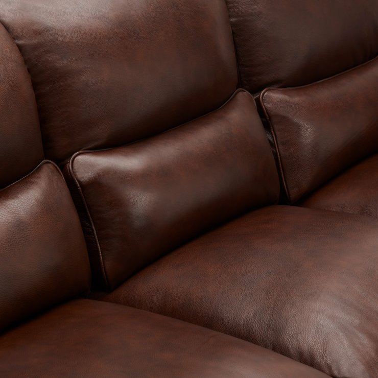 Modena Modular Group 6 in 2 Tone Brown Leather
