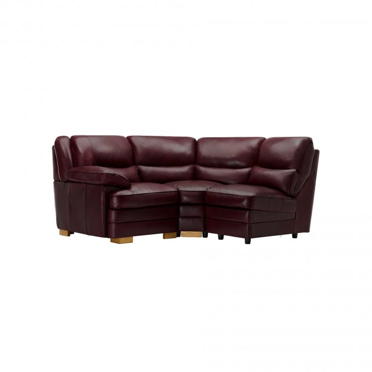 Modena Modular Group 6 in Burgundy Leather - Image 9