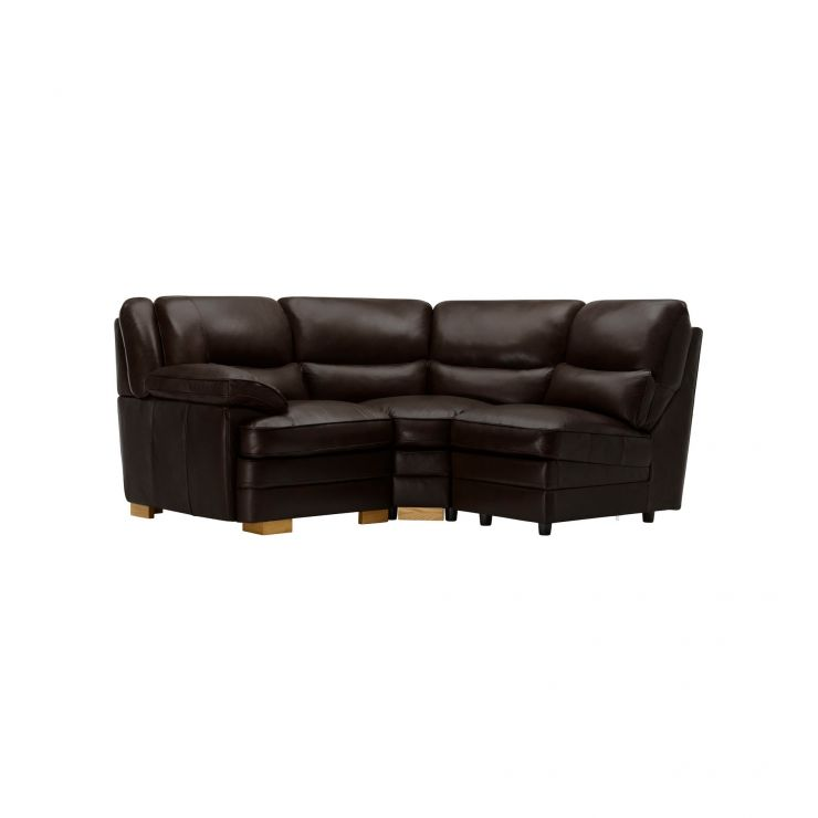 Modena Modular Group 6 in Dark Brown Leather - Image 7