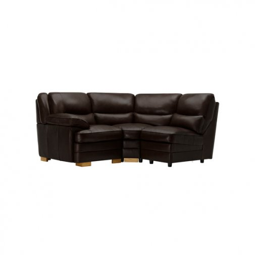 Modena Modular Group 6 in Dark Brown Leather
