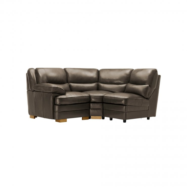 Modena Modular Group 6 in Dark Grey Leather - Image 8