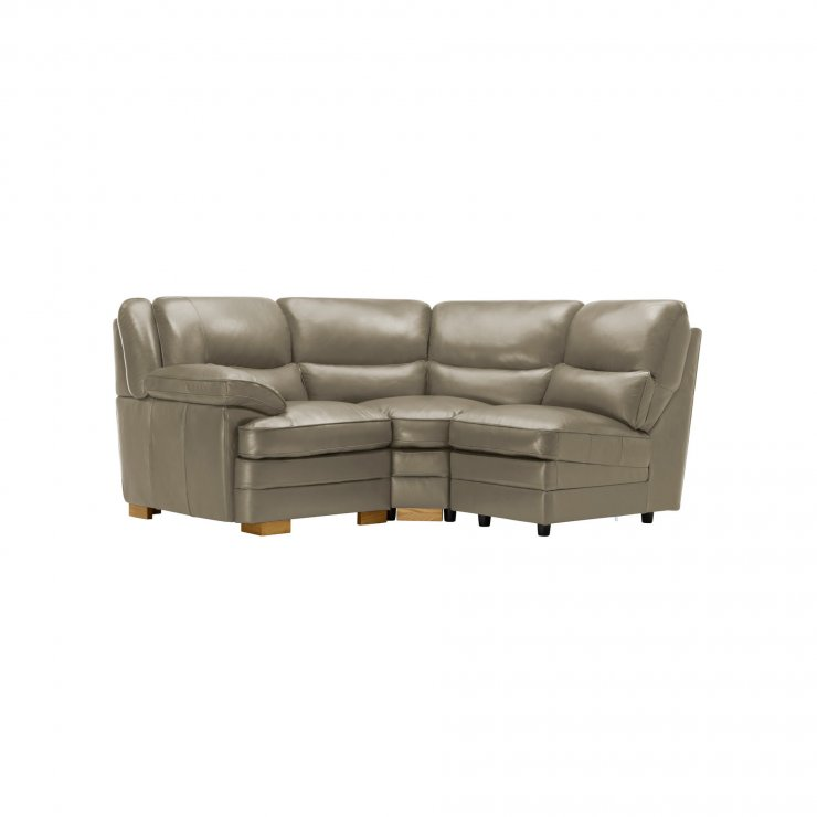 Modena Modular Group 6 in Grey Leather - Image 8