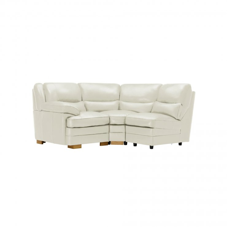 Modena Modular Group 6 in Off White Leather - Image 9