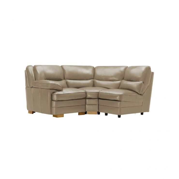 Modena Modular Group 6 in Taupe Leather - Image 9
