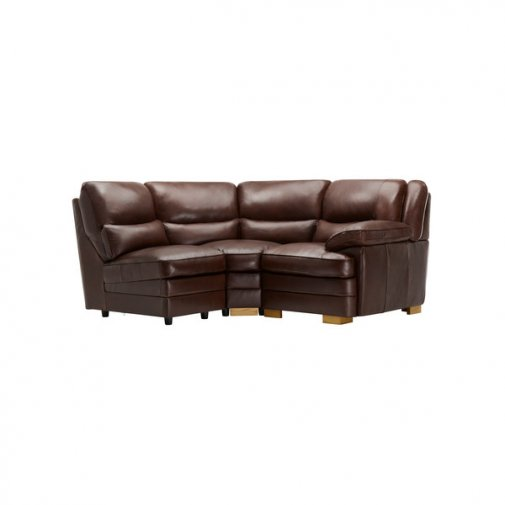 Modena Modular Group 7 in 2 Tone Brown Leather