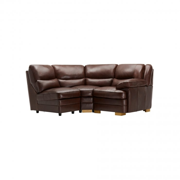 Modena Modular Group 7 in 2 Tone Brown Leather - Image 1