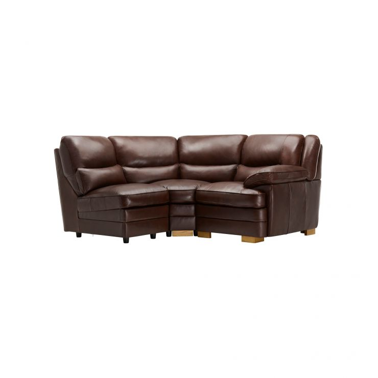 Modena Modular Group 7 in 2 Tone Brown Leather - Image 10