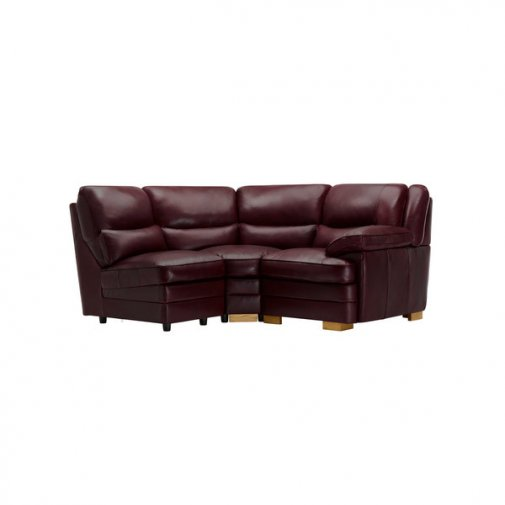 Modena Modular Group 7 in Burgundy Leather