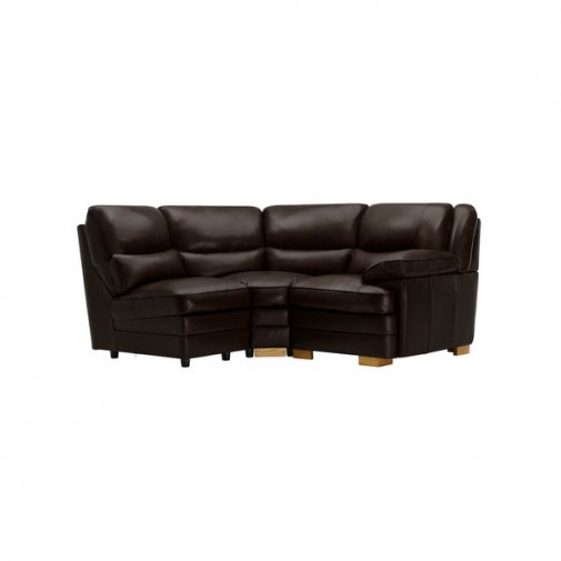 Modena Modular Group 7 in Dark Brown Leather