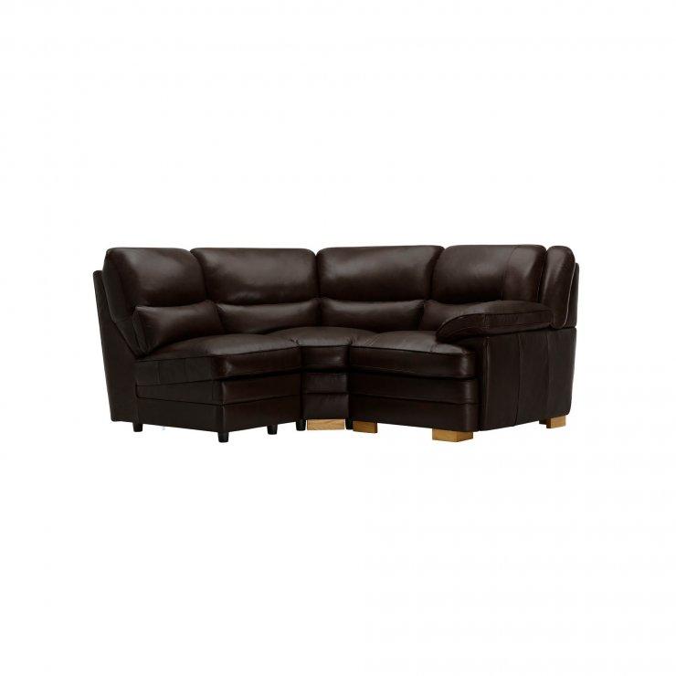 Modena Modular Group 7 in Dark Brown Leather