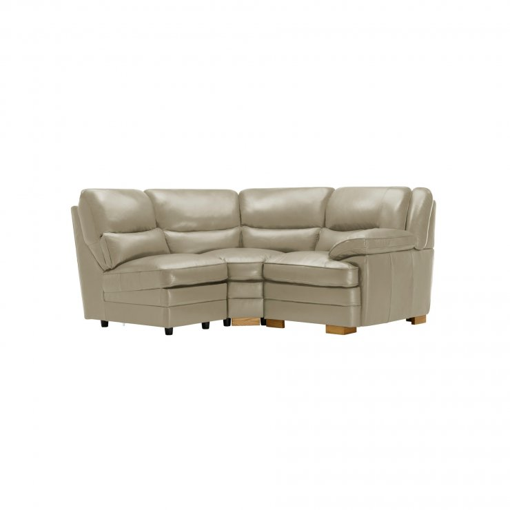Modena Modular Group 7 in Stone Leather - Image 7