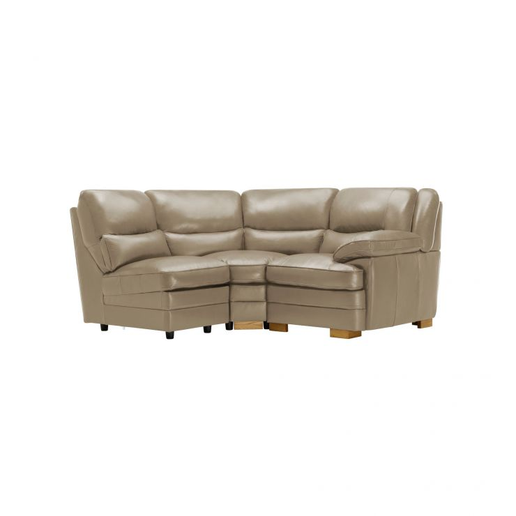 Modena Modular Group 7 in Taupe Leather - Image 8