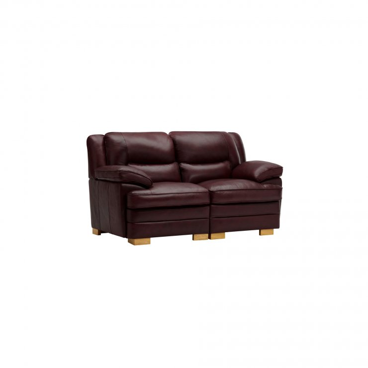 Modena Modular Group 8 in Burgundy Leather - Image 8