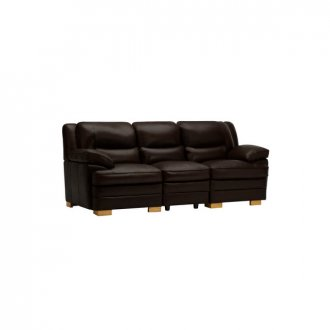 Modena Modular Group 9 in Dark Brown Leather