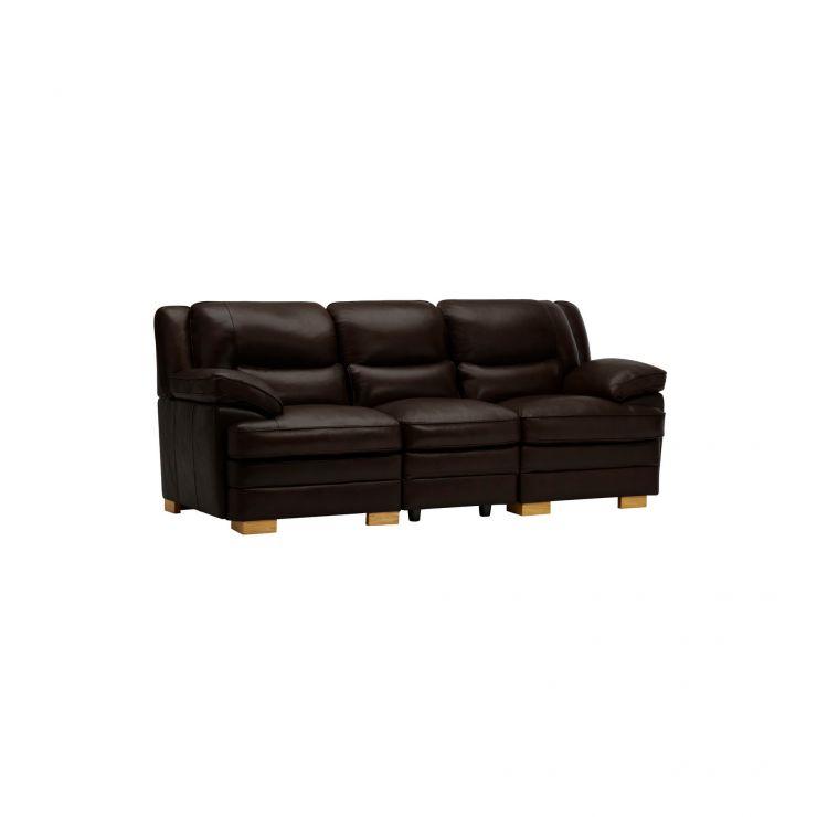 Modena Modular Group 9 in Dark Brown Leather - Image 9